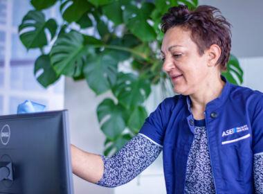 ASE Unterhaltsreinigung - Reinigungsservice - Bildschirme - Monitore reinigen